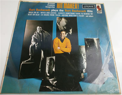 Burt Bacharach - Hit Maker mono HA-R 8233 1965 12 inch vinyl