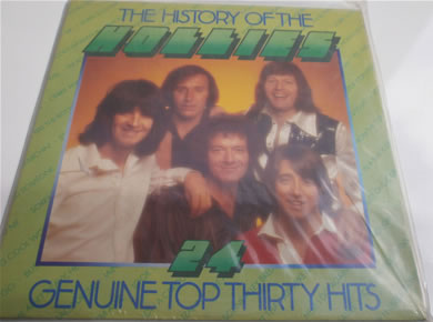 Hollies - The History of 24 genuine top 30 hits gatefold 12 inch vinyl