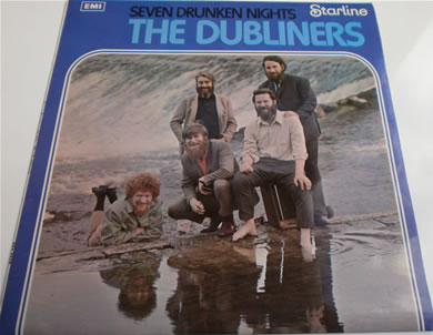 The Dubliners - Seven Drunken Nights 12 inch vinyl