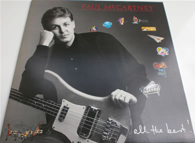 Paul McCartney - All The Best! Gatefold 1st press mint 1987 12 inch vinyl