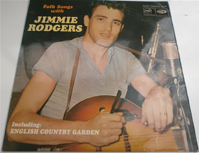 Jimmie Rodgers - Folk Songs With Jimmie Rodgers 1961 12 inch vinyl