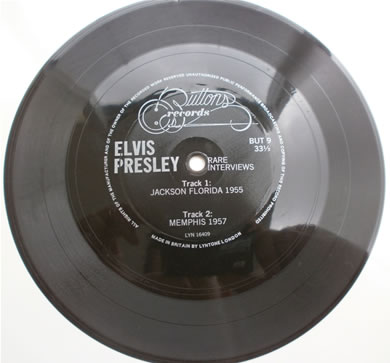 Elvis Presley - Rare Interveiws BUT 9 7 inch vinyl