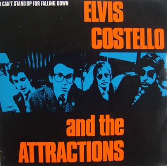 Elvis Costello And The Attractions - Cant Stand Up For Falling Down 7 Inch Vinyl