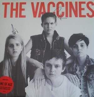 The Vaccines - Come Of Age 12 Inch Signed Vinyl