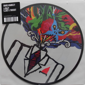 Gnarls Barkley - Crazy 7 Inch Picture Disc Vinyl
