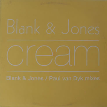 Blank And Jones - Cream 12 inch vinyl