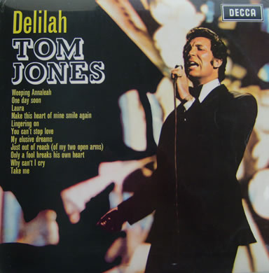 Tom Jones - Delilah 12 inch vinyl