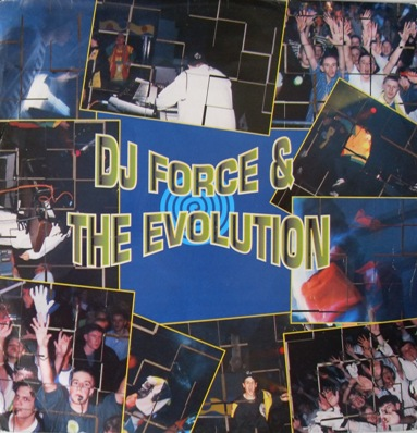 DJ Force & Evolution - Simply Electric 12 Inch Vinyl