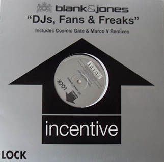 Blank And Jones - DJs, Fans And Freaks 12 Inch Vinyl