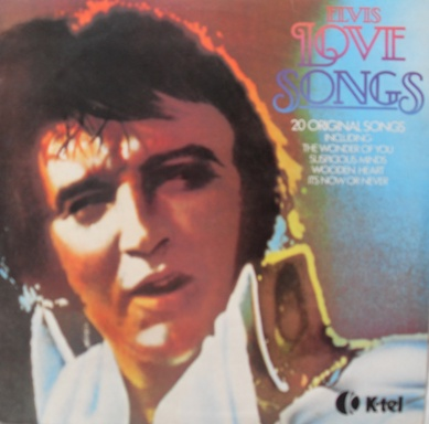 Elvis Presley - Love Songs 12 inch vinyl