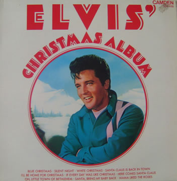 Elvis' - Christmas Album 12 inch vinyl