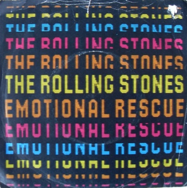 The Rolling Stones - Emotional Rescue 7 Inch Vinyl