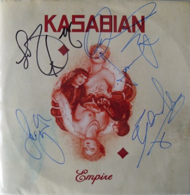 Kasabian - Empire 10 Inch Signed Vinyl