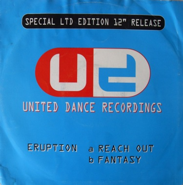 United Dance Recordings - Eruption - Reach Out 12 Inch Vinyl