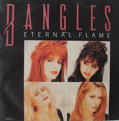 The Bangles - Eternal Flame 7 inch vinyl