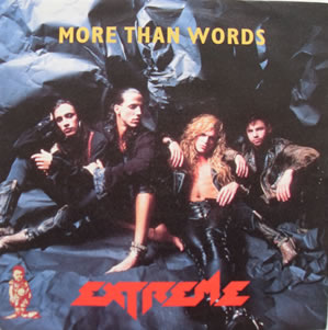 Extreme - More Than Words 7 Inch Vinyl
