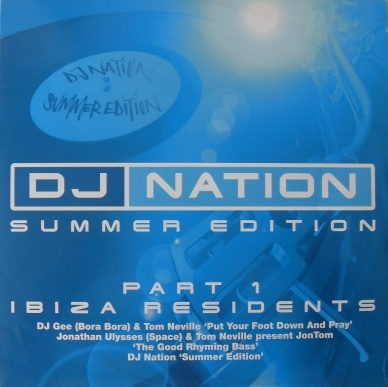 DJ Nation - Summer Edition Part 1 Ibiza Residents 12 inch vinyl