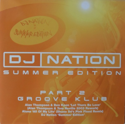 DJ Nation - Summer Edition Part 2 Groove Klub 12 inch vinyl
