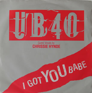 UB40 - I Got You Babe 7 inch vinyl