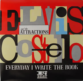 Elvis Costello - I Write The Book 7 inch vinyl