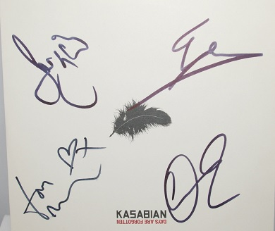 Kasabian - Days Are Forgotten 10 Inch Signed Vinyl