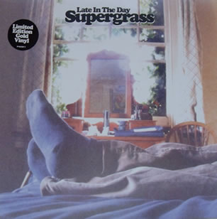 Supergrass - Late In The Day 7 Inch Gold Vinyl