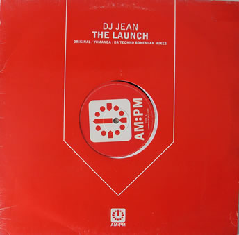 DJ Jean - The Launch 12 inch vinyl