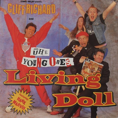Cliff Richard And The Young Ones - Living Doll 7 inch vinyl
