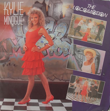 Kylie Minogue - Locomotion 7 inch vinyl