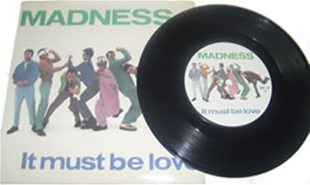 Madness - It Must Be Love 7 inch vinyl