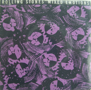 The Rolling Stones - Mixed Emotions 7 inch Vinyl