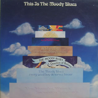 Moody Blues - This Is The Moody Blues 12 inch vinyl