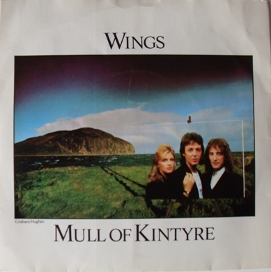 Wings - Mull Of Kintyre 7 inch vinyl