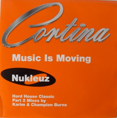 Cortina - Music Is Moving 12 inch vinyl