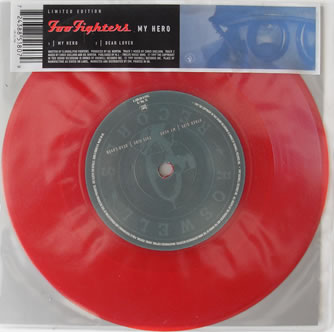 Foo Fighters - My Hero 7 Inch Red Vinyl
