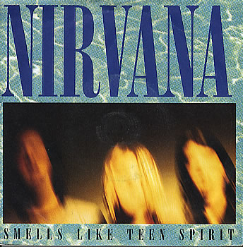 Nirvana - Smells Like Teen Spirit 7 Inch Vinyl
