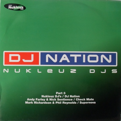 DJ Nation - Nukluez DJ's Part 3 12 inch vinyl