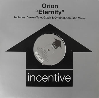 Orion - Eternity 12 inch vinyl