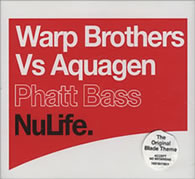 Warp Bros Vs Aquagen - Phatt Bass 12 inch vinyl