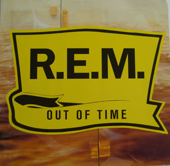 REM - Out Of Time 12 inch vinyl