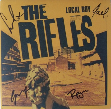 The Rifles - Local Boy 7 Inch Signed Vinyl