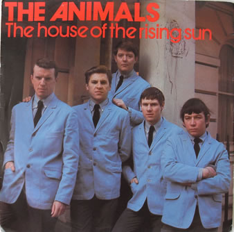 The Animals - House Of The Rising Sun 7 Inch Vinyl