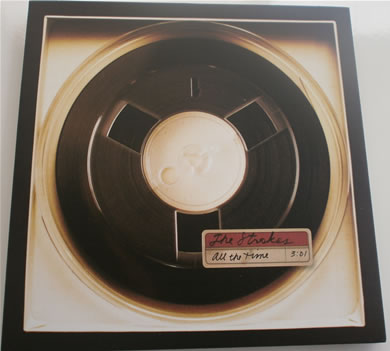 The Strokes - All The Time / Fast Animals 7 Inch Vinyl