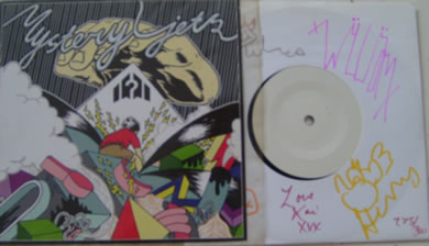 Mystery Jets - Umbrellahead 7 Inch Signed Vinyl