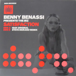 Benni Benassi - Satisfaction 12 Inch Vinyl