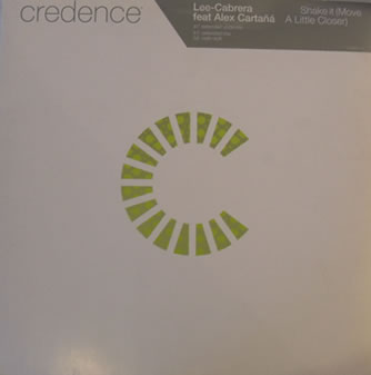Lee-Cabrera feat Alex Cartana - Shake It (Move A Little Closer) 12 inch vinyl