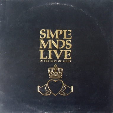 Simple Minds - Live in the City of Light 12 Inch Vinyl