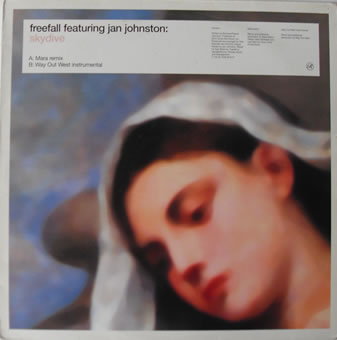 Freefall Feat Jan Johnston - Skydive 12 inch vinyl