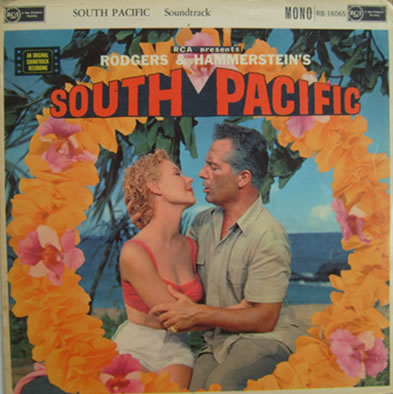 South Pacific 12 Inch Vinyl