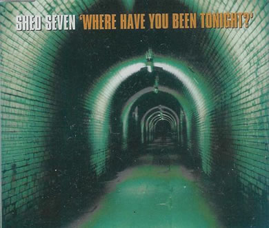 Shed Seven - Where Have You Been Tonight? 7 Inch Vinyl